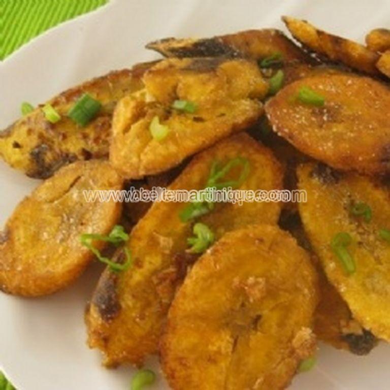Banane-peze Recette Antillaise et creole