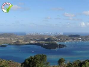 Morne Gommier le marin Martinique vue globale