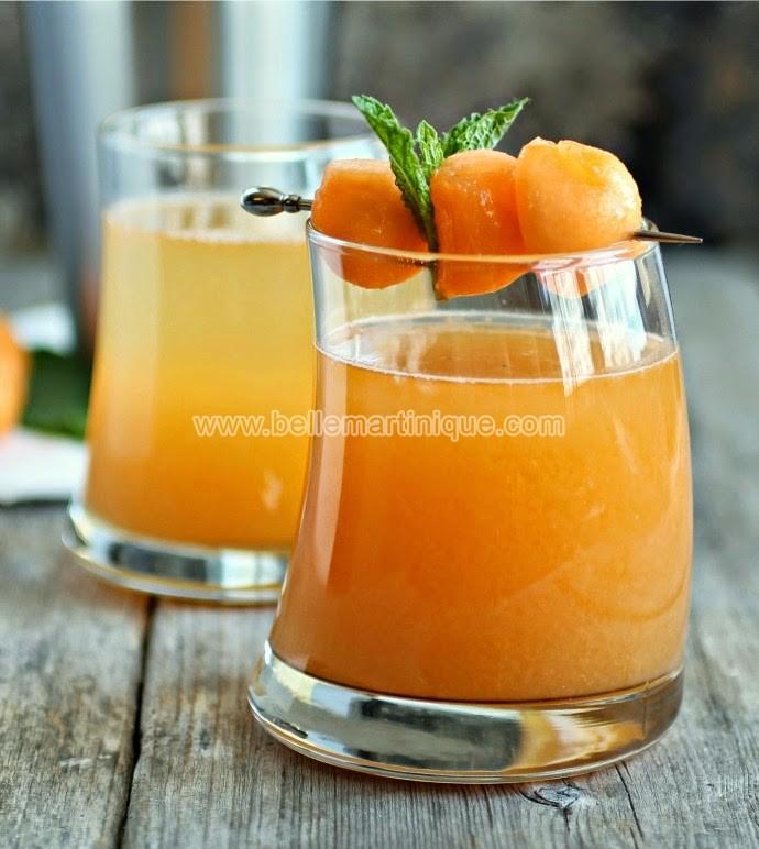cocktail melon antillais-martinique