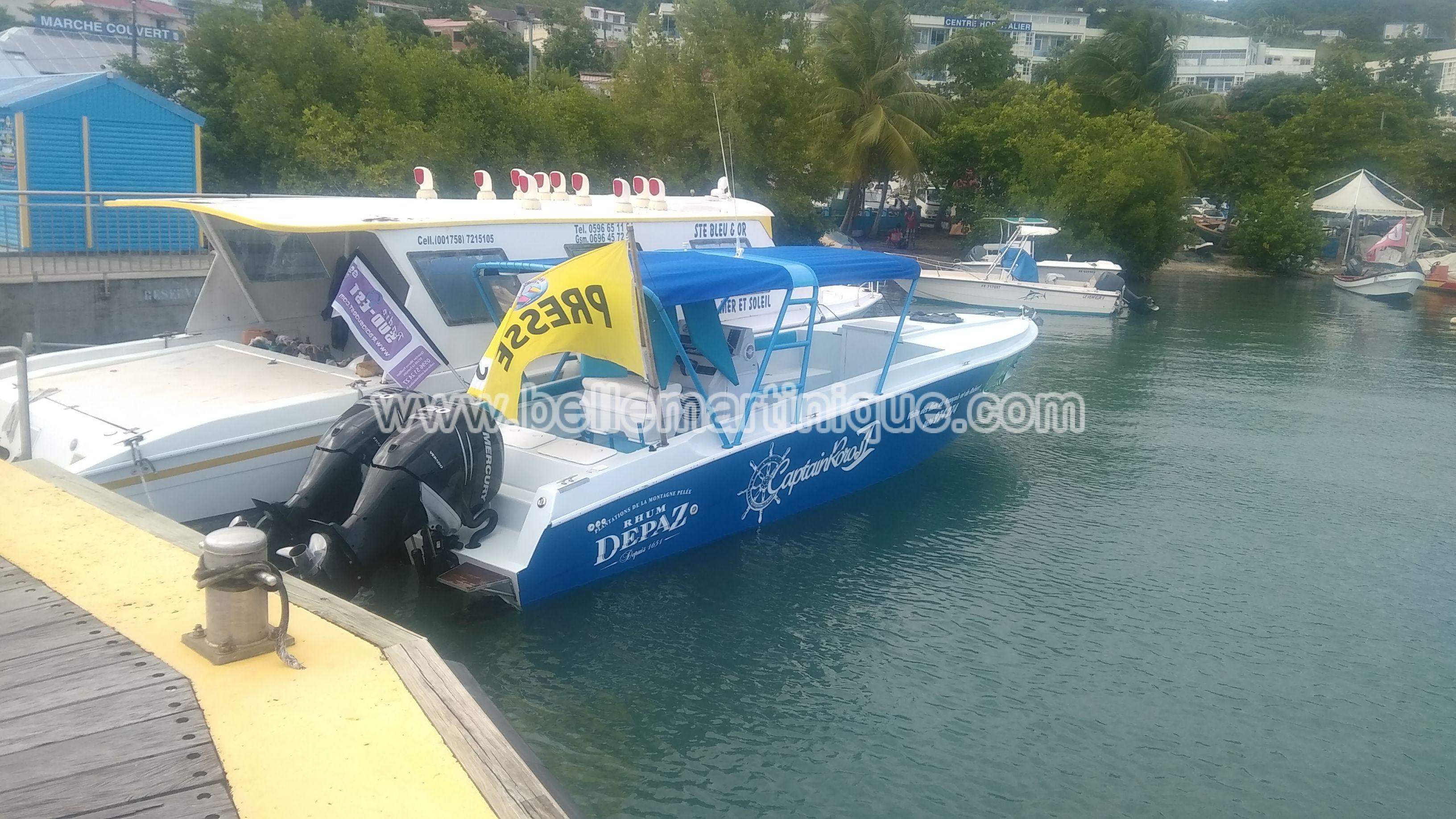 Captain Roro Activités Loisirs Tourisme Belle Martinique